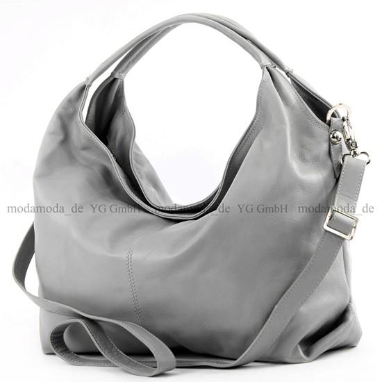 ital-Handtasche-Damentasche-Schultertasche-Leder-Damen-Tasche-Nappaleder-DS26