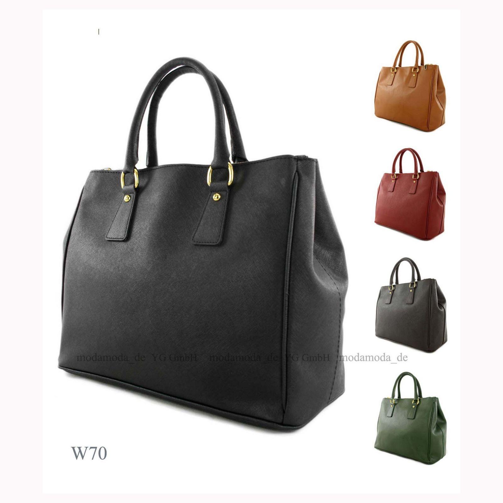 ital handtasche damentasche schultertasche tragetasche. Black Bedroom Furniture Sets. Home Design Ideas
